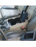Console Vault Ford F250 Super Duty Floor Console Cover: 2004 - 2007