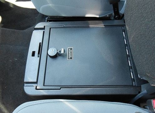 Console Vault Ford F350 Under Front Middle Seat: 2011 - 2016