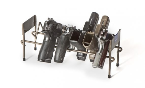 Rack'em 6007 - 7 Pistol Stack-able Rack