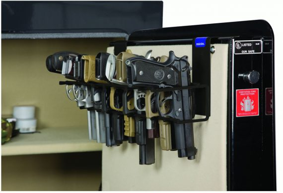 Rack'em 6030 The Holster - 9 Pistol Rack