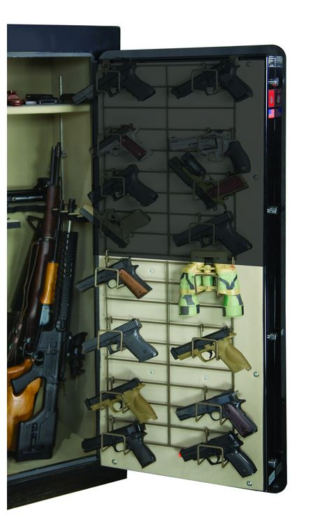 Rack'em 6032 Half Door Bottom Mount - 8 Pistol Rack