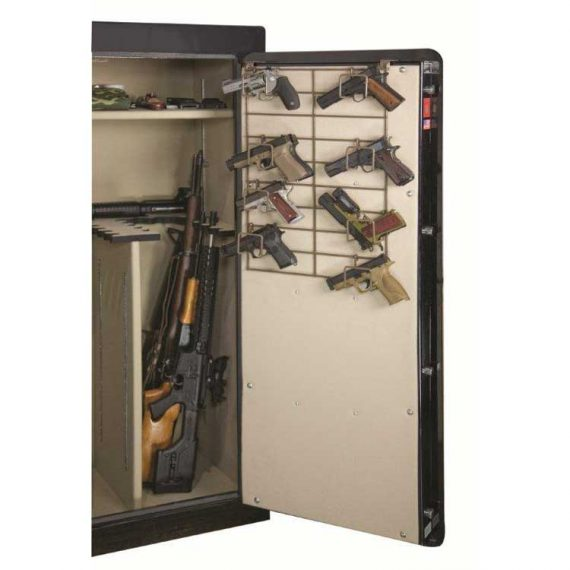 Rack'em 6041 The Maximizer- (1/2 Door- Top) 12 Pistols Rack