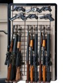 Rack'em 6047 Full Door Pistol and Rifle Maximizer - 9 Rifles/18 Pistols