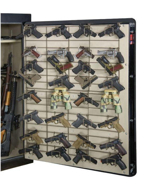 Rack'em 6053 The Maximizer Full Door 32 Pistol Rack
