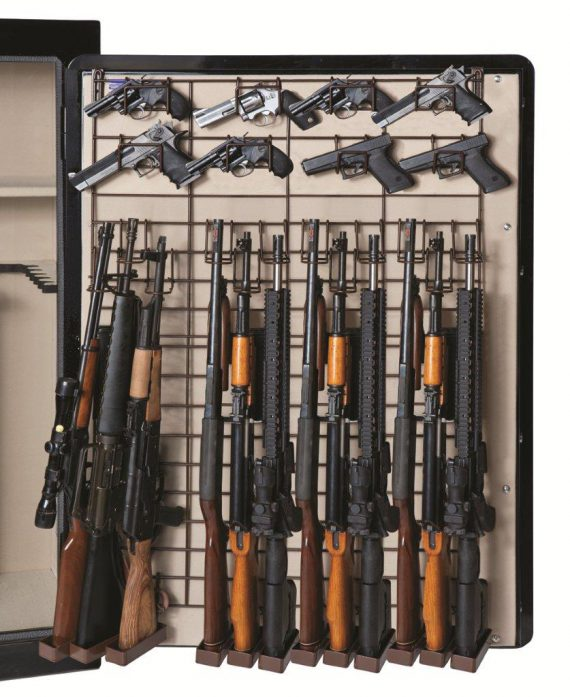 Rack'em 6057 Maximizer Full Door 12 Rifle/ 26 Pistol Rack