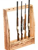 Rush Creek 37-0037 6-Gun Rack w/ Storage
