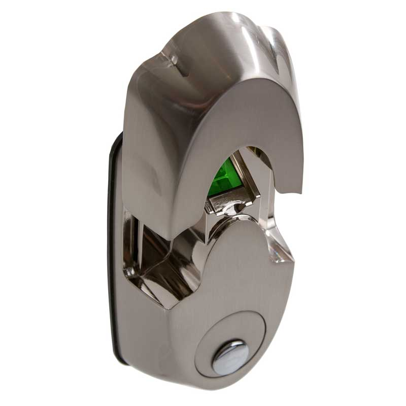 Actuator Systems NEXTBOLT-NX4 SN Secure-Mount Biometric Lock - Satin Nickel