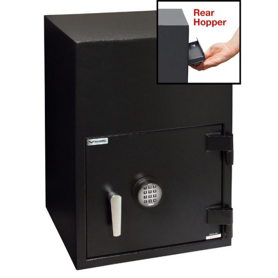 American Security BWB2020FLR Safe- Reverse Front Loading Large Door Drop Safe