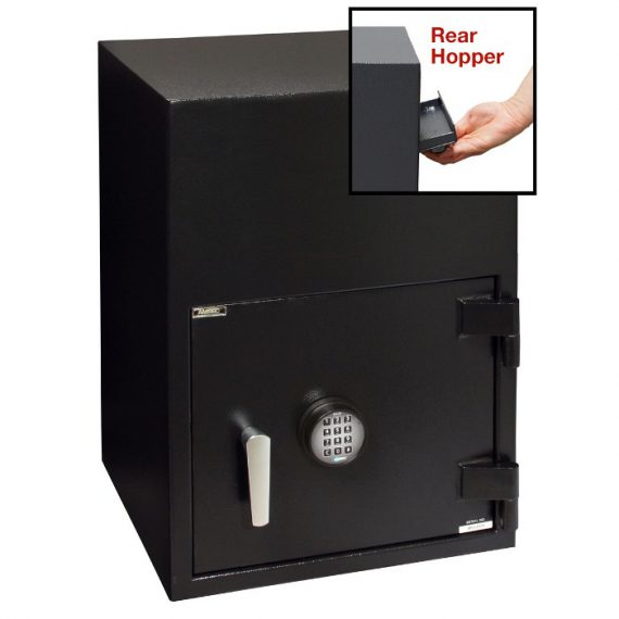 American Security BWB2025FLR Safe- Reverse Front Loading Large Door Drop Safe