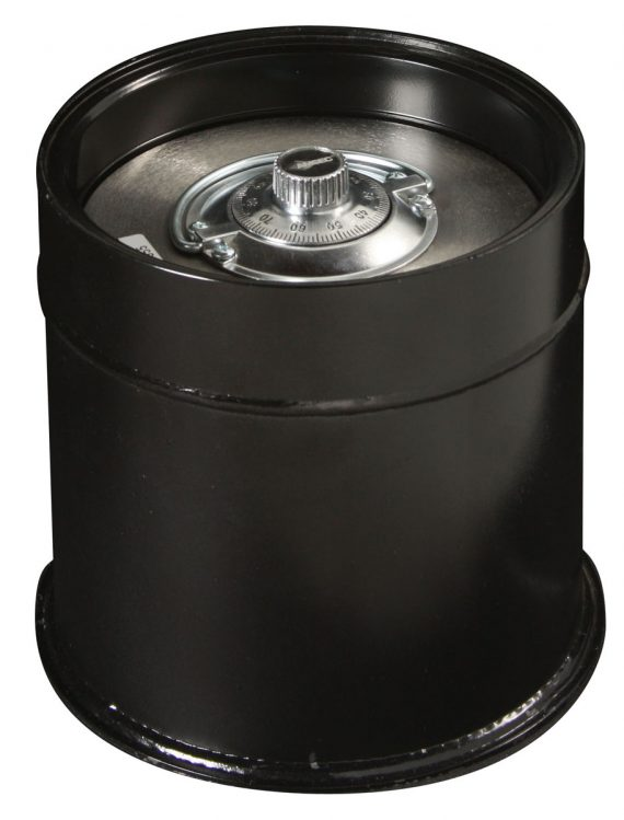 American Security C3 Safe : Round Lift Out Door Floor Safe