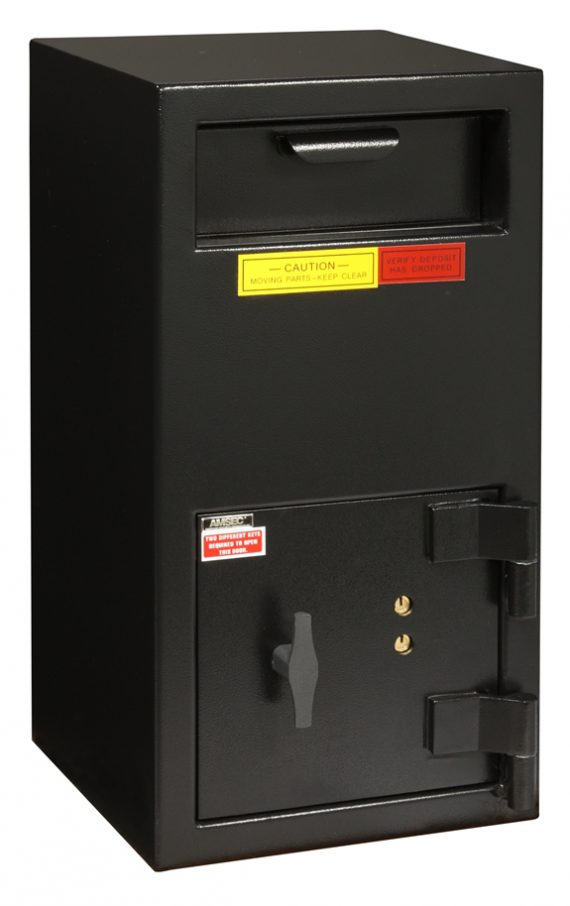 """American Security DSF2714K - """"B"""" Rated Front Load Depository Drop Safe With Key Entry"""