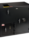 "American Security DST2731KC - ""B"" Rated Top Load Rotary Depository Drop Safe With Dual Key Entry Depository Door and Large Combination Entry Side Safe"