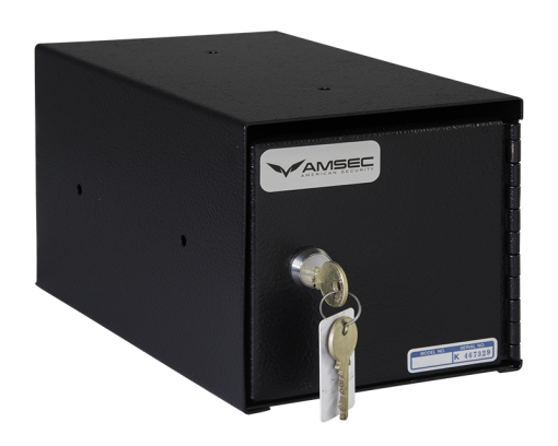 American Security TB0610-2 - Under Counter Safe - with Medeco® Single Key Cam Lock