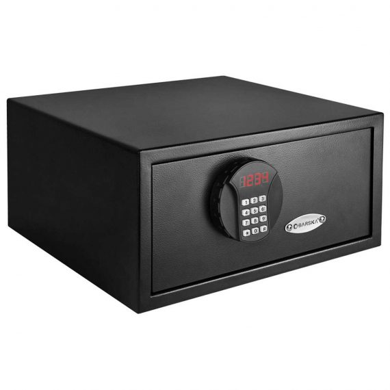 barska ax11678 compact combination pistol safe gun safes. Black Bedroom Furniture Sets. Home Design Ideas