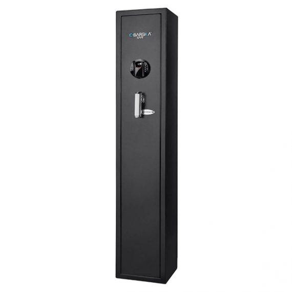 Barska AX12760 Standard Quick Access Biometric Rifle Safe - 4 Gun Safe