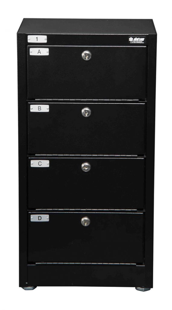 Datum Storage Argos WMC-4-231208 - 4 Tier Pistol Locker
