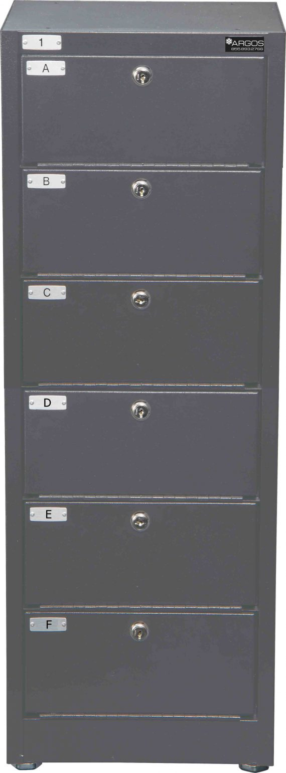 Datum Storage Argos WMC-6-331208 - 6 Tier Pistol Locker