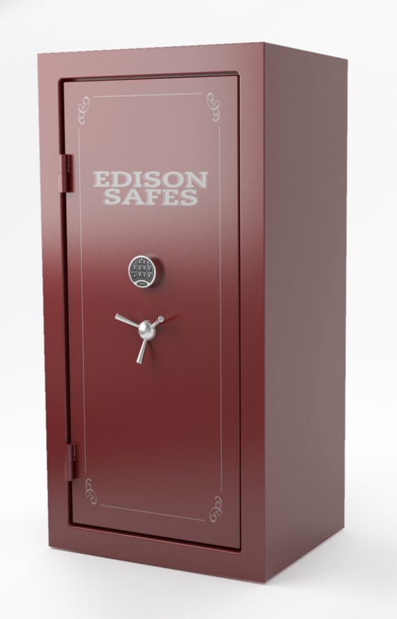 Edison Safes F7236 Foraker Series 30-120 Minute Fire Rating - 56 Gun Safe