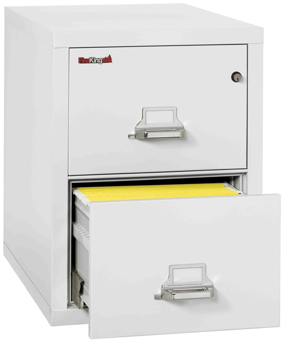 Fire King 2 2131 C Vertical Fireproof File Cabinets 3 Drawer 1 Hour Rating