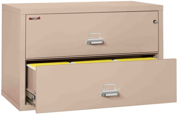 Fire King 2 4422 C U2013 Lateral Fireproof File Cabinets U2013 2 Drawer 1 Hour Fire  Rating