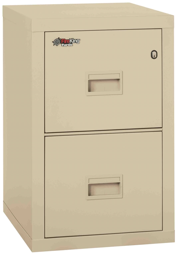 Fire King 2r1822 C Turtle Fireproof File Cabinets 2 Drawer 1 Hour Rating