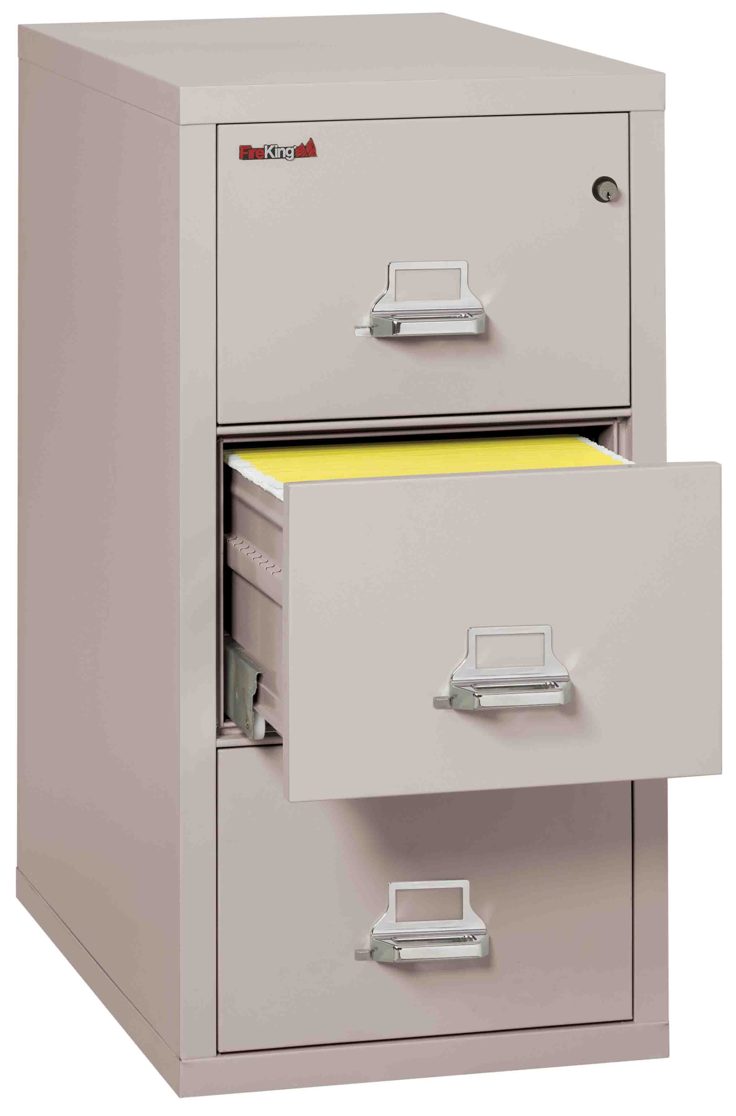Fire King 3 1831 C Vertical Fireproof File Cabinets Drawer 1 Hour Rating