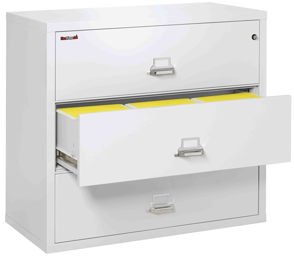 Fire King 3 4422 C U2013 Lateral Fireproof File Cabinets U2013 3 Drawer 1 Hour Fire  Rating