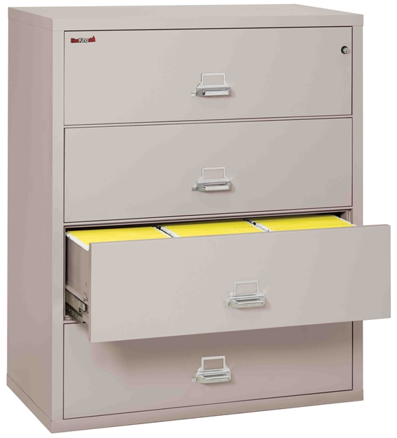 Fire King 4 4422 C Lateral Fireproof File Cabinets Drawer 1 Hour Rating