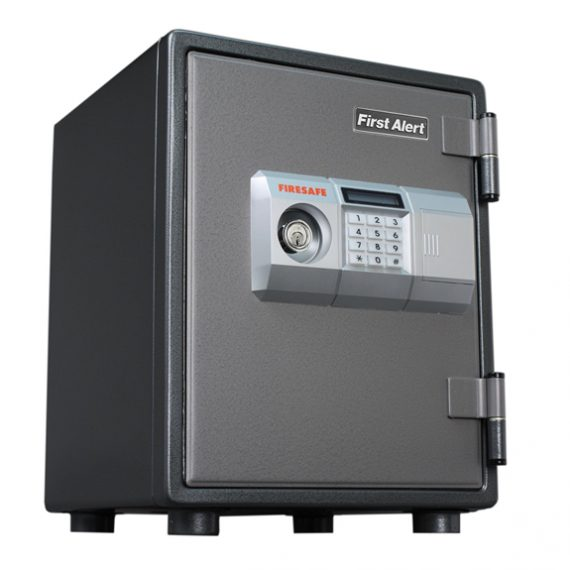 First Alert 2054DF 1 Hour Steel Fire Safe with Electronic Lock - 0.80 Cubic Ft