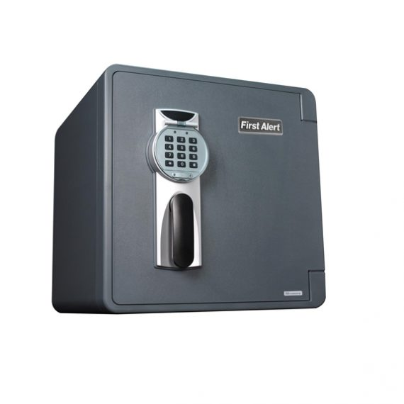 First Alert 2092DF Waterproof Fire Safe with Electronic Lock - 1.2 Cubic Ft