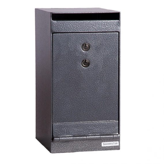 Hollon HDS-01K Deposit Safe w/ Key Lock