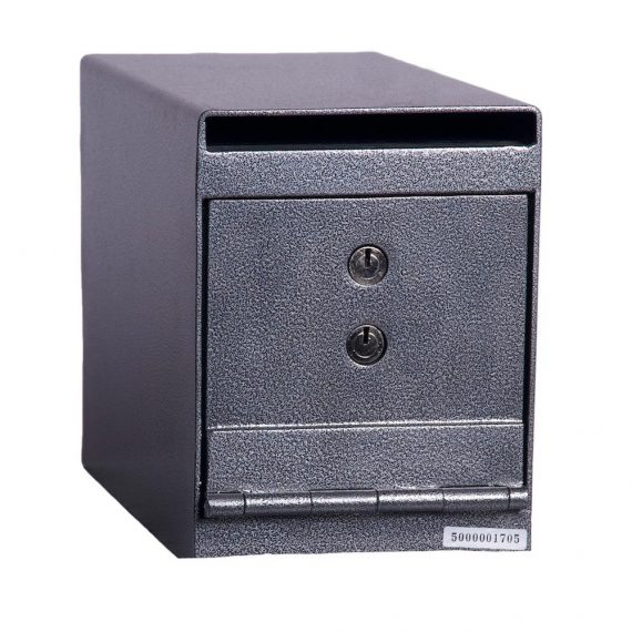 Hollon HDS-02K Deposit Safe w/ Key Lock