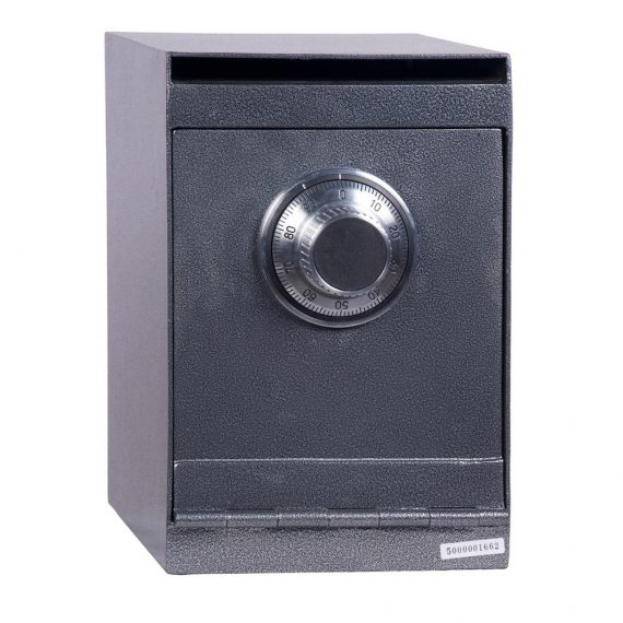 Hollon HDS-03D Deposit Safe w/ Dial Lock