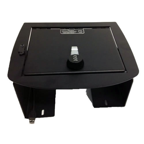 Lock'er Down Console Safe 2007 to 2013 Chevrolet Avalanche/Full Floor Console