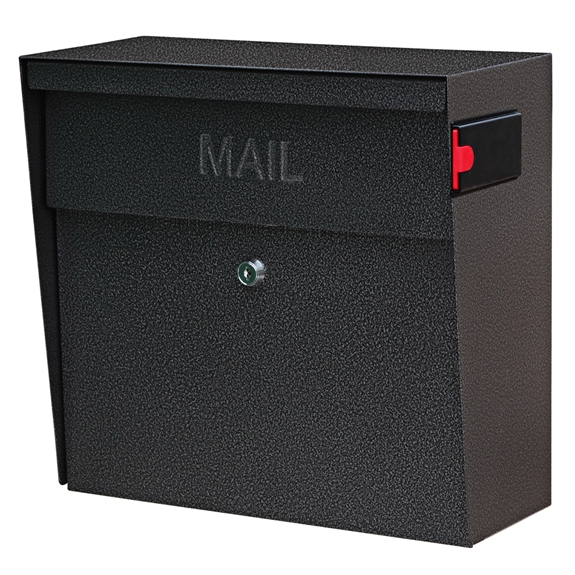 MailBoss 7160 Metro Wall Mount Locking Mailbox - Galaxy