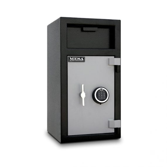 Mesa Safes MFL2714ILK Safe - Depository Safe w/ Key Locking Interior - 1.3 Cubic Feet