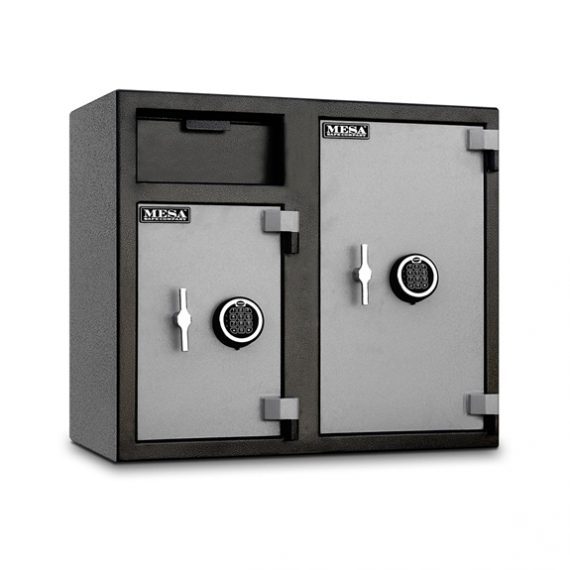 Mesa Safes MFL2731 Safe - Depository Safe w/ Double Doors - 2.5 & 4 Cubic Feet