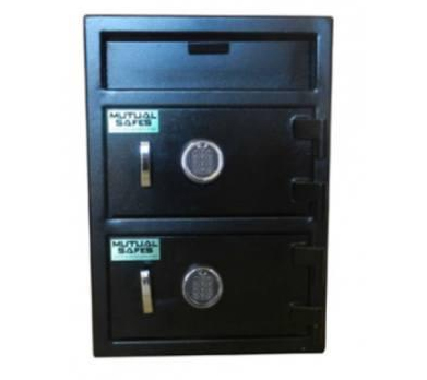 Mutual Safes - FL2820EE - 2 Door Front Depository Safe