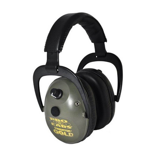 Pro Ears Pro 300 - Pro 300 Green, Behind the Head