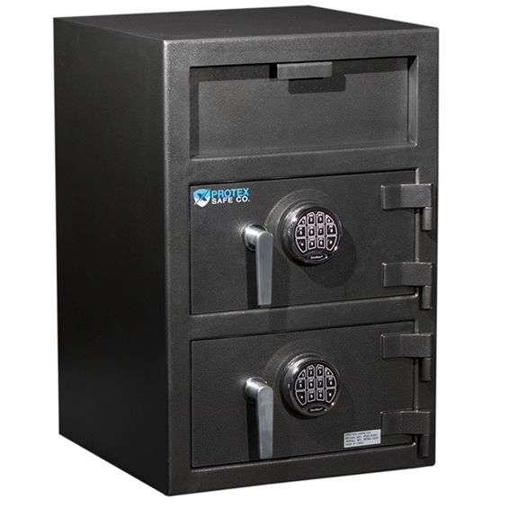 Protex FDD-3020 Safe - B-rated Duel Compartment Depository Safe