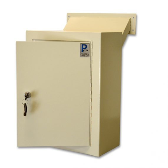 Protex MDL-170 Protex Wall Drop Box w/ Adjustable Chute