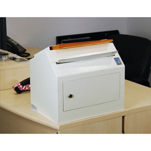 Protex SDL-500 Safe - Desktop/ Wall-Mount Locking, Payment Drop Box