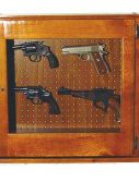 Scout 620 Pistol Cabinet - Solid Pine