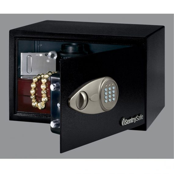 Sentry X055 Safe Small Security Safe w/ Electric Lock