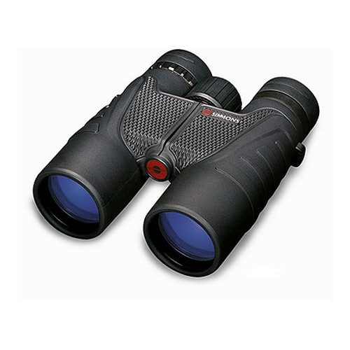 Simmons 10x42 Black Roof Twist Up Eyecups, Clam-ProSport Series Binoculars