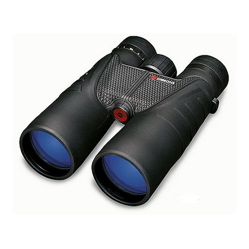 Simmons 12x50 Black Roof Twist Up Eyecups, Clam-ProSport Series Binoculars