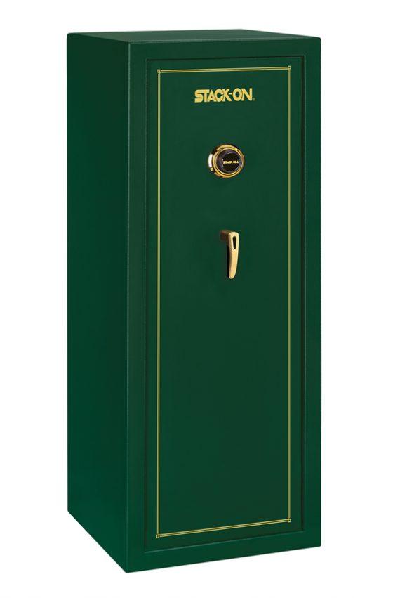 Stack-On SS-Series 16 Gun Safe w/ Combination Lock Hunter Green