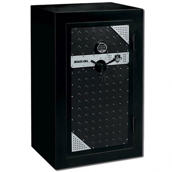 Stack-On Tactical Fire Resistant Security Gun Safe w/Electronic Lock