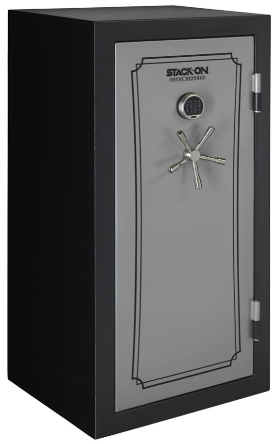 Stack-On Total Defense 36-40 Gun Safe w/Electronic Lock Black/Silver