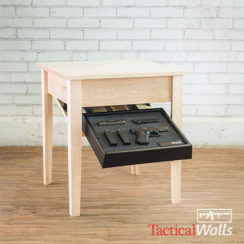 Tactical Walls - Concealment End Table - RFID Lock